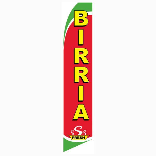 Birria Feather Flag