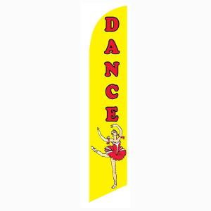Dance Feather Flag