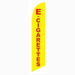 E Cigarettes Vape Feather Flag