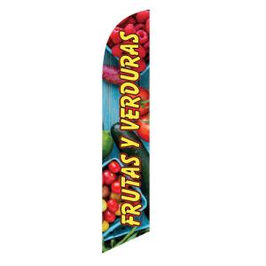 Frutas Y Verduras Swooper Banner