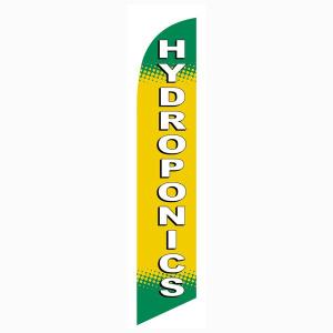 Hydroponics Feather Flag