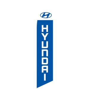 Hyundai Feather Flag