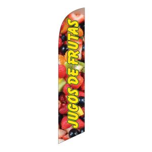 Jugos De Frutas Swooper Banner