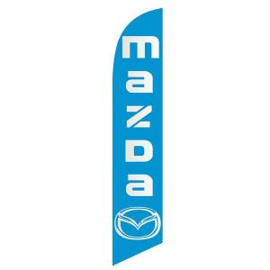 Mazda Feather Flag