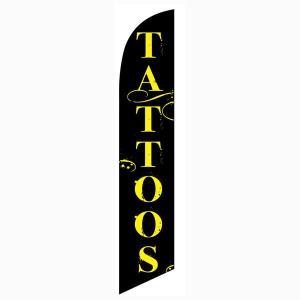 Tattoos Feather Flag