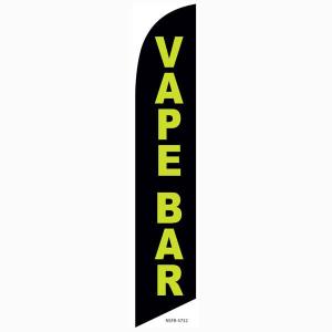 Vape Bar Feather Flag