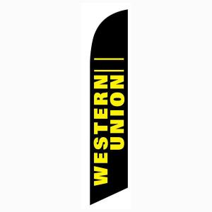 Western Union Feather Flag