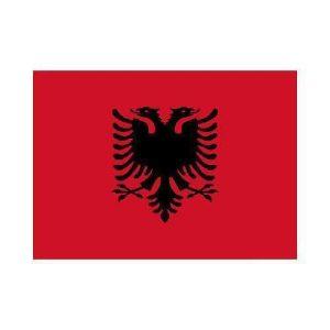 Albania al 3x5 polyester nylon flag