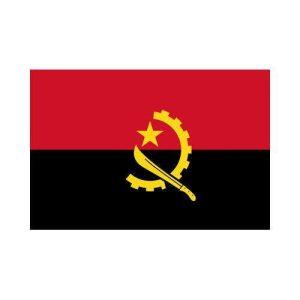 Angola ao 3x5 polyester nylon flag