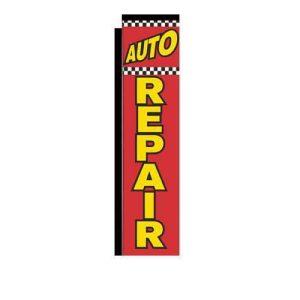 Auto Repair Rectangle Flags