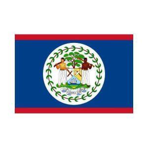 Belize bz 3x5 polyester nylon flag
