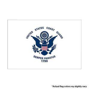 Coast guard military flag 3x5
