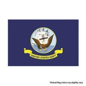 US NAVY military flag 3x5
