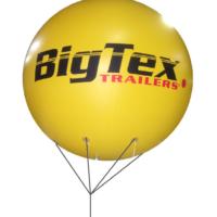 2 FT Helium Sphere Balloons PVC