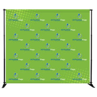 Slider Banner Stand 8 x 8 Graphic Package Frame Graphic 1 1